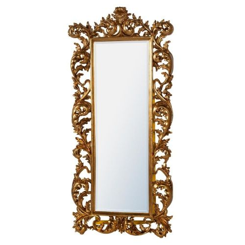 Baroque Gold Free Standing Mirror